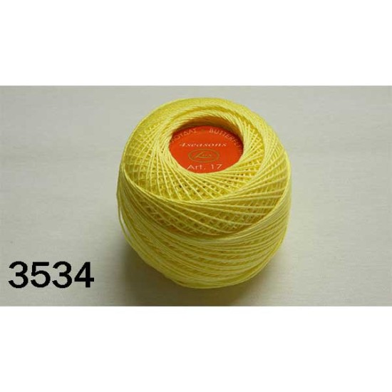 Κουβάρια πεταλούδα LUX σε 34 χρώματα ( 50 γρ) (62460)