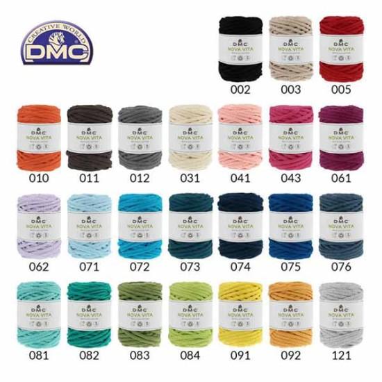 DMC nova vita σε 24 χρώματα (62009)