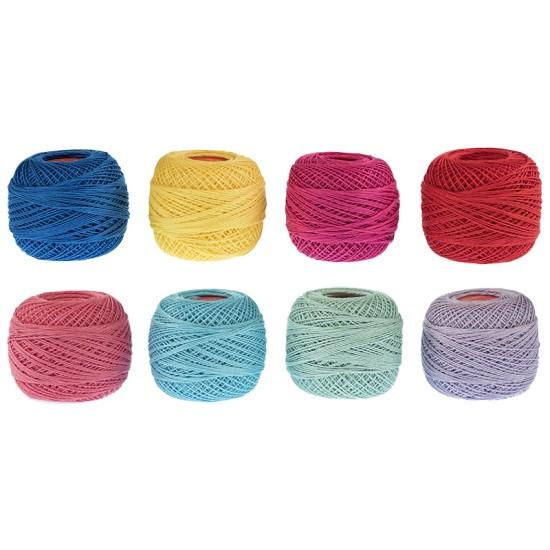 Κουβάρια πεταλούδα LUX σε 34 χρώματα ( 50 γρ) ()