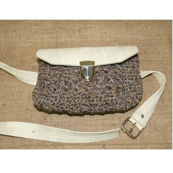 Handmade πλεκτό belt bag ()